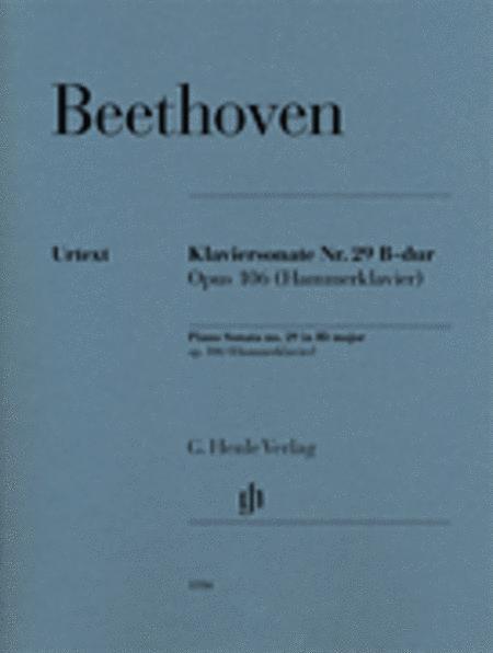 Piano Sonata No. 29 in B-flat Major, Op. 106 (Hammerklavier)