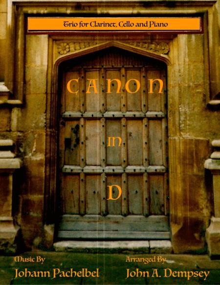 Canon in D (Trio for Clarinet, Cello and Piano)