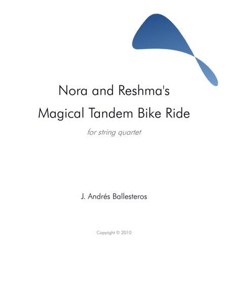 Nora and Reshma's Magical Tandem Bike Ride (score)