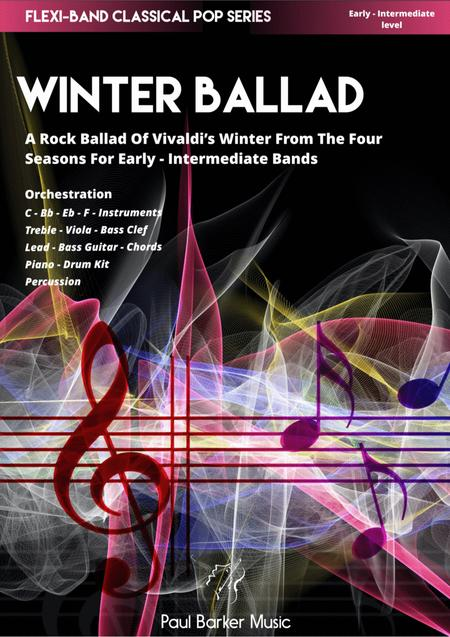 Vivaldi's 4 Seasons - Winter Ballad (Flexi-Band Score and Parts)