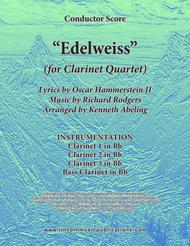 Edelweiss (for Clarinet Quartet)