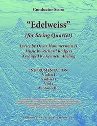 Edelweiss (for String Quartet)