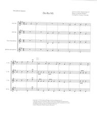 Do-Re-Mi for Saxophone Quartet (SATB or AATB)