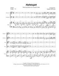 Hallelujah (for Brass Quartet)
