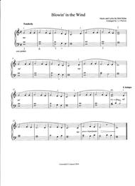Blowin' in the Wind - 2016 Easy Piano Contest Entry