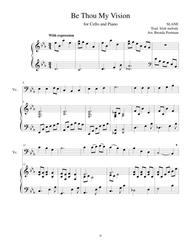 Be Thou My Vision (cello/piano), arr. Brenda Portman