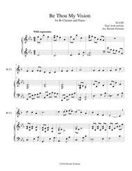 Be Thou My Vision (clarinet/piano), arr. Brenda Portman