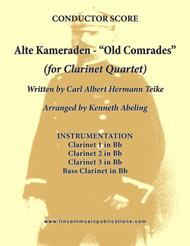 Alte Kameraden - Old Comrades (for Clarinet Quartet)