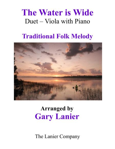 THE WATER IS WIDE (Viola & Piano with Parts)