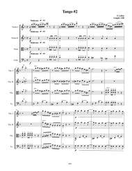 Tango #2 for String Quartet
