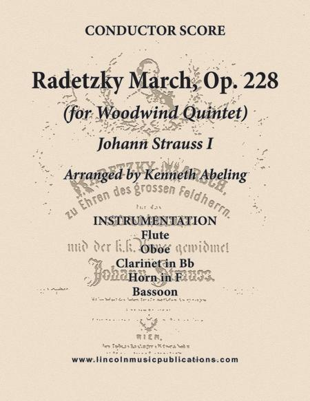 Radetzky March (for Woodwind Quintet)