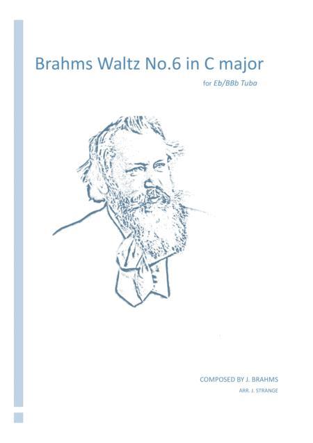 Brahms Waltz No.6 in C Major for unaccompanied Tuba