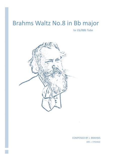 Brahms Waltz No.8 in Bb Major for unaccompanied Tuba