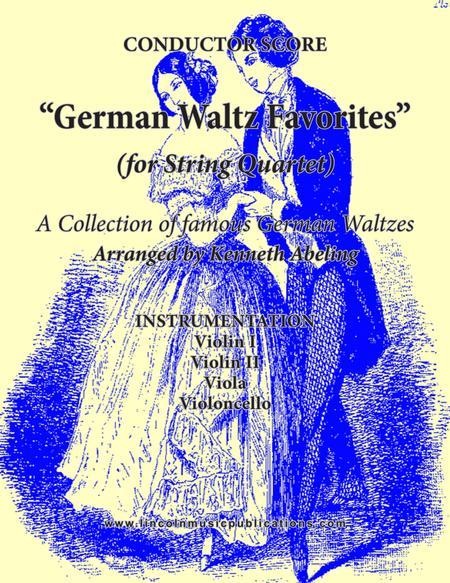 German Waltz (Oktoberfest) Medley (for String Quartet)
