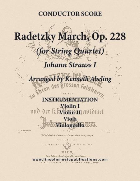 Radetzky March (for String Quartet)