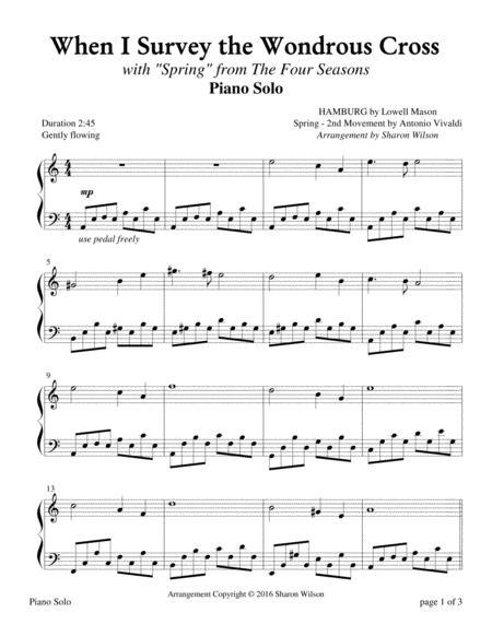 The Four Seasons Hymn Medleys: When I Survey the Wondrous Cross