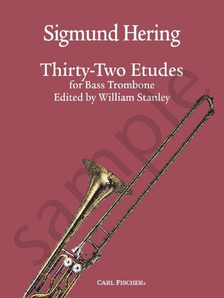 32 Etudes for Bass Trombone