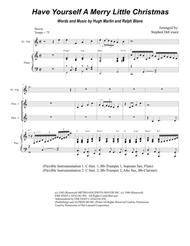 Have Yourself A Merry Little Christmas (for Flexible Treble Instrumentation)