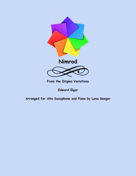Nimrod (alto sax and piano)