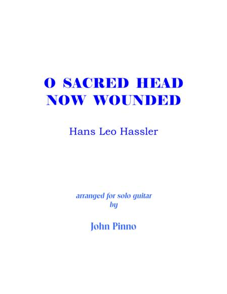 O Sacred Head Now Wounded (solo classical guitar)