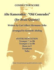 Alte Kameraden - Old Comrades (for Brass Quintet)