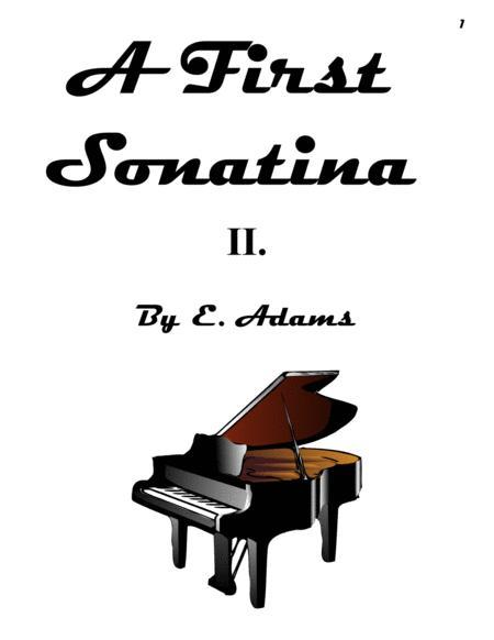 A First Sonatina - 2nd Movement