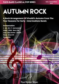 Vivaldi's 4 Seasons - Autumn Rock (Flexi-Band Score and Parts)