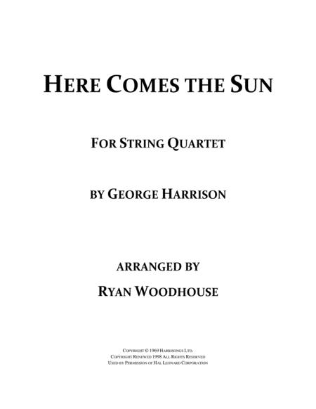 Here Comes The Sun - String Quartet