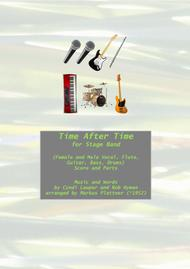 Time After Time for Stage Band (w/vocals)