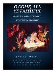 O Come All Ye Faithful (Duet for Bb-Trumpet)