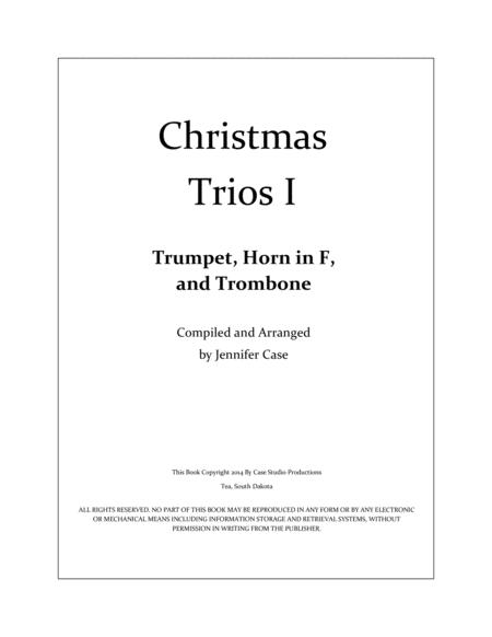 Christmas Trios I - Trumpet, Horn in F, and Trombone