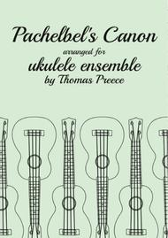 Pachelbel's Canon arranged for ukulele ensemble by Thomas Preece