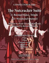 The Nutcracker Suite - 4. Russian Dance, Trépak (for Woodwind Quintet)