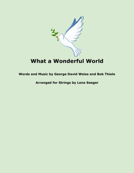 What A Wonderful World (string trio)