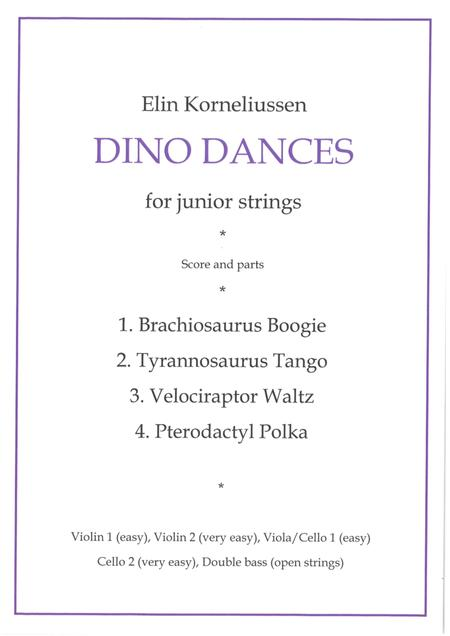 Dino Dances for junior string orchestra