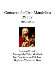 Concerto for Two Mandolins RV532 Andante