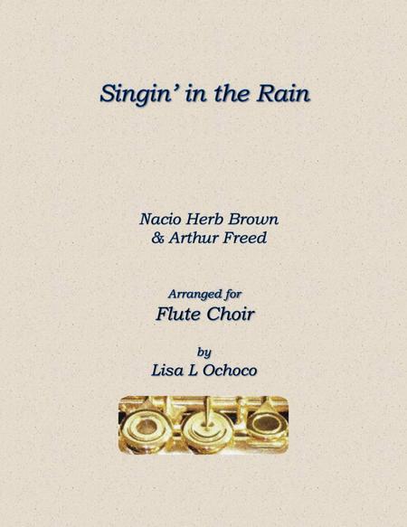 Singin' In The Rain for Flute Choir