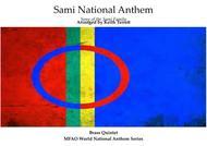 Sami National Anthem (''Sámi soga lávlla'') for Brass Quintet