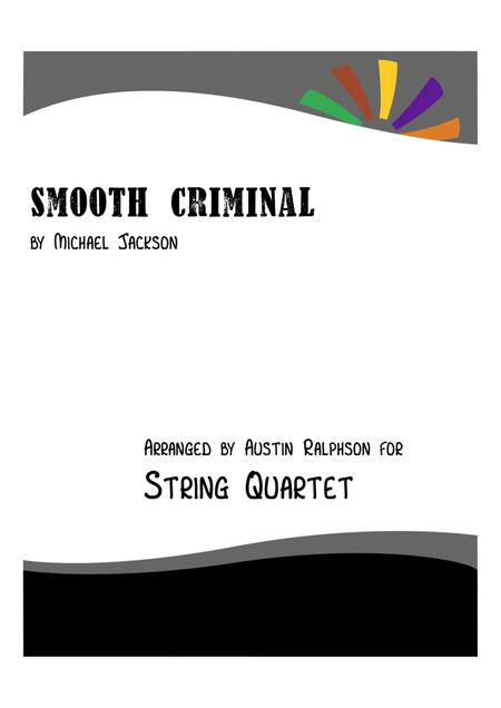 Smooth Criminal - string quartet