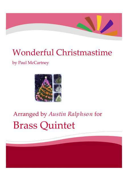 Wonderful Christmastime - brass quintet
