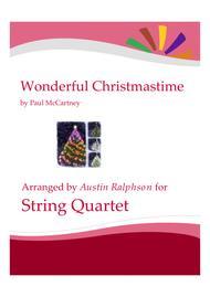 Wonderful Christmastime - string quartet