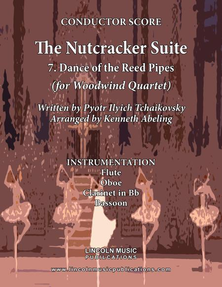 The Nutcracker Suite - 7. Dance of the Reed Flutes (for Woodwind Quartet)