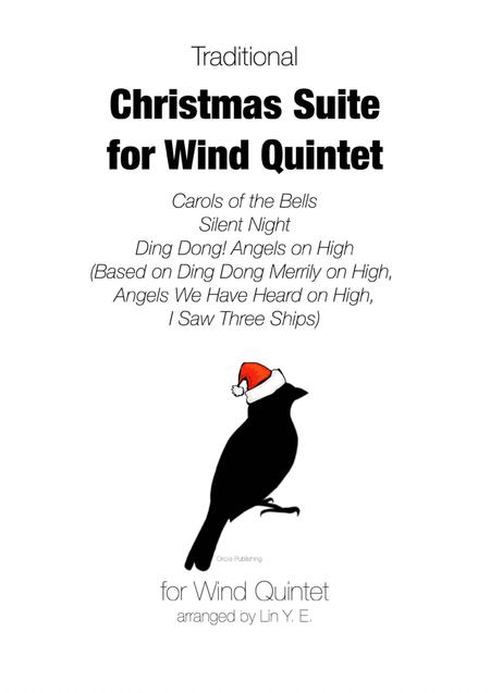 Christmas Suite for Wind Quintet (Carols of the Bells, Silent Night, Ding Dong! ...)