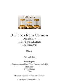 3 Pieces from Bizet's Carmen (Brass Septet)