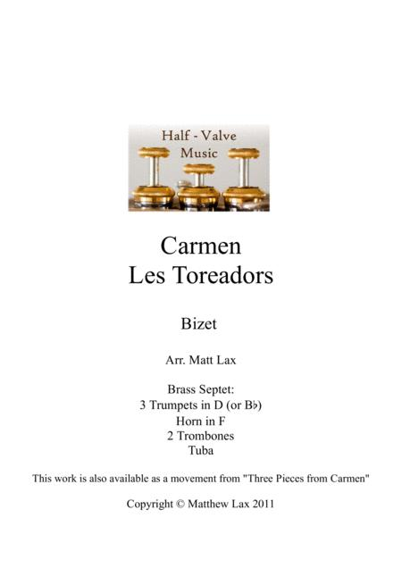 Les Toreadors from Bizet's Carmen (Brass Septet)
