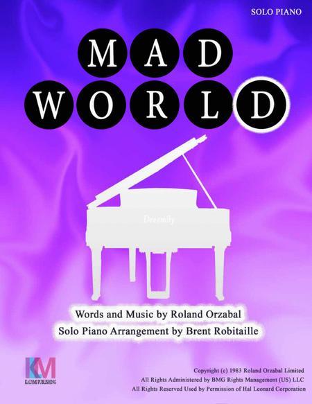 Mad World - Solo Piano Arrangment