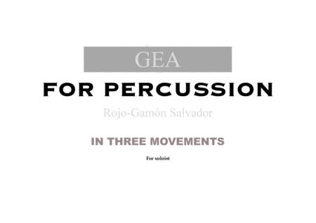 GEA (For percussion)