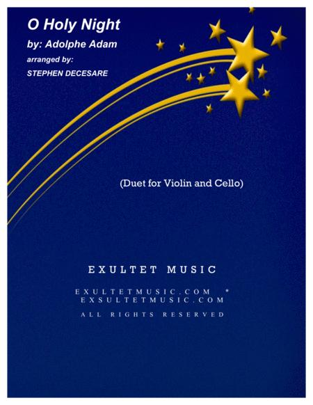O Holy Night (Duet for Violin and Cello)