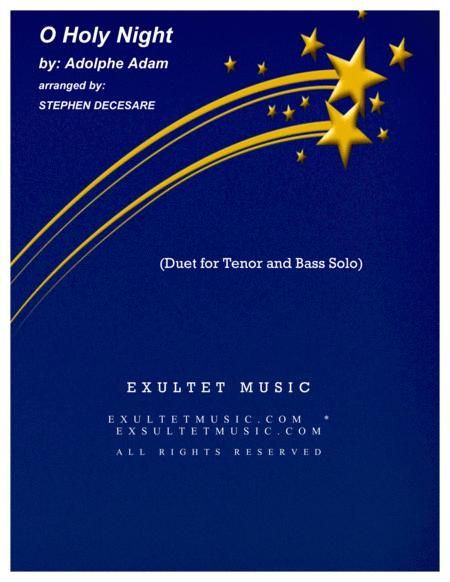 O Holy Night (Duet for Tenor and Bass Solo)