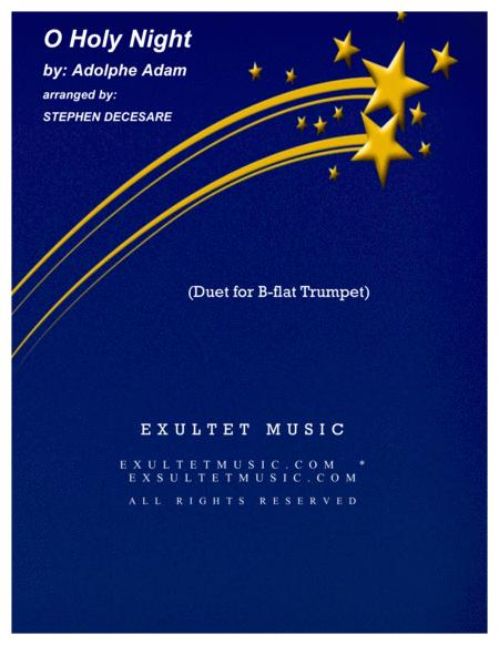 O Holy Night (Duet for Bb-Trumpet)